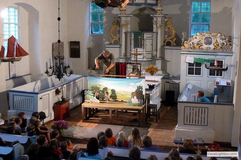 Hase und Igel in der Inselkirche Kloster