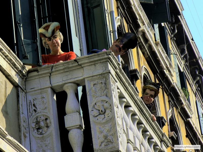Maskenball in Venedig