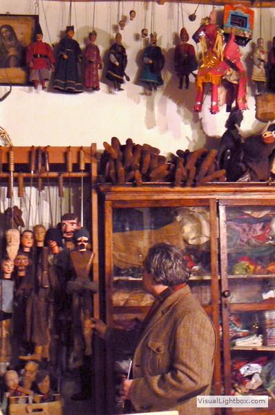 Werkstatt von Mimmo Cuticchio in Palermo