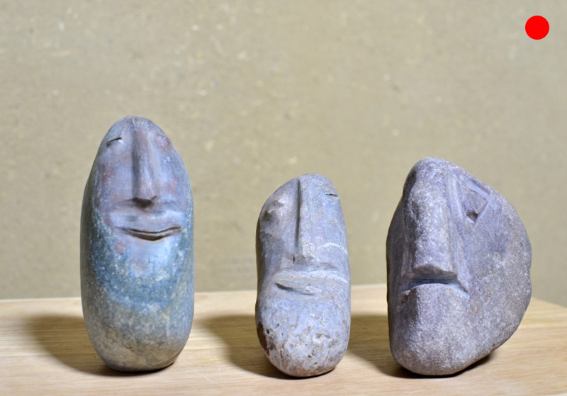 Drei Steinköpfe Sindbad der Seefahrer, 2002, Mathias Maßwig