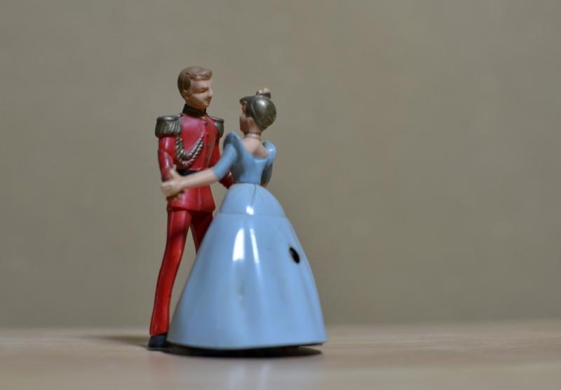 Tanzpaar Die Schneekönigin, 1985, unbekannt