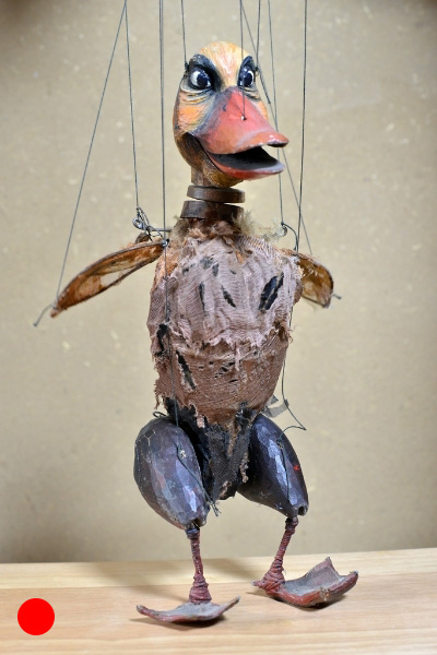 Entenmutter Das hässliche Entlein, 2010, Figurenbau Weinhold