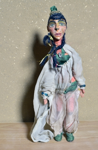 Prinzessin Der fliegende Koffer, 1995, Hans Scheibner