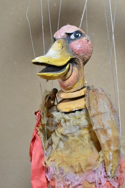 Dicke Ente Das hässliche Entlein, 2010, Figurenbau Weinhold