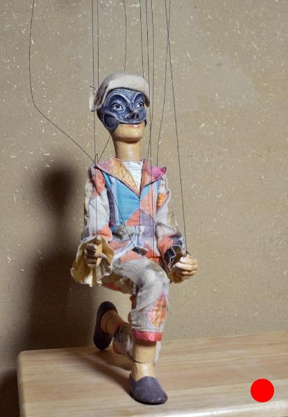Harlekin Die legendären Abenteuer des Pinocchio, 1994, Figurenbau Weinhold