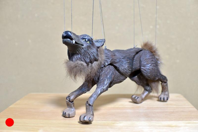 Wolf Wolfgang Rotkäppchen oder die Macht des Schicksals, 2006, Figurenbau Weinhold