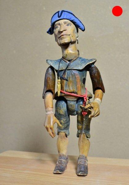 Kapitän Smollet Schatzinsel, 1997, Figurenbau Weinhold