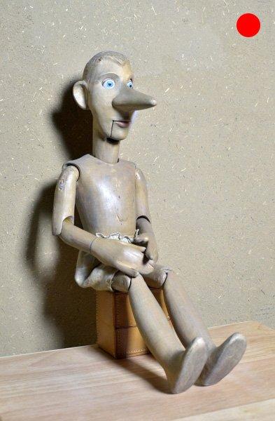 Pinocchio Die legendären Abenteuer des Pinocchio, 1994, Figurenbau Weinhold