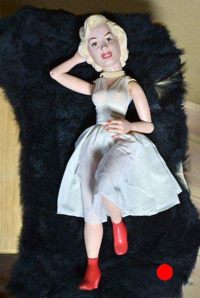 Marilyn Monroe King Kong, 2005, Figurenbau Weinhold