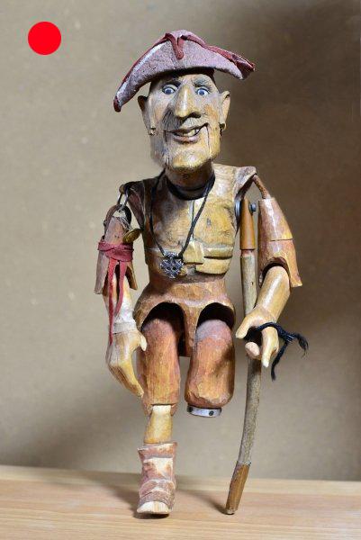 John Silver Schatzinsel, 1997, Figurenbau Weinhold