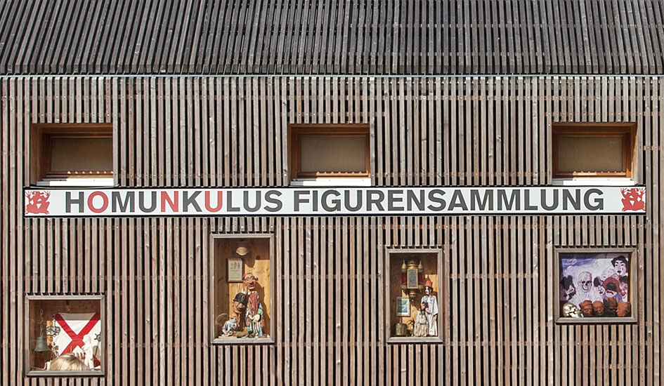 Homunkulus - (Architekturentwurf: Prof. Johanne Nalbach, Berlin)